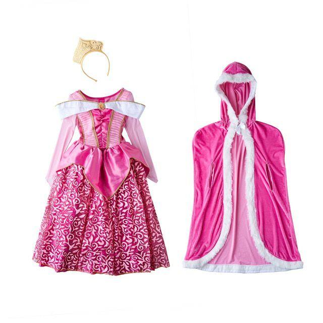 Disfraz infantil Luxury Bella Durmiente Princesas Disney