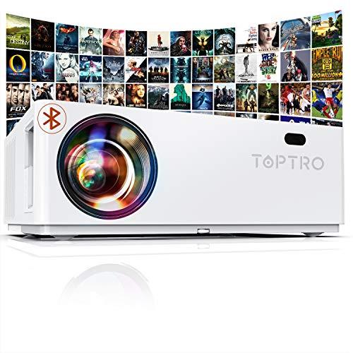 "Proyector TOPTRO ""supuestamente de"" 1080P, 7200 Lúmenes Proyector Full HD 1920x1080"