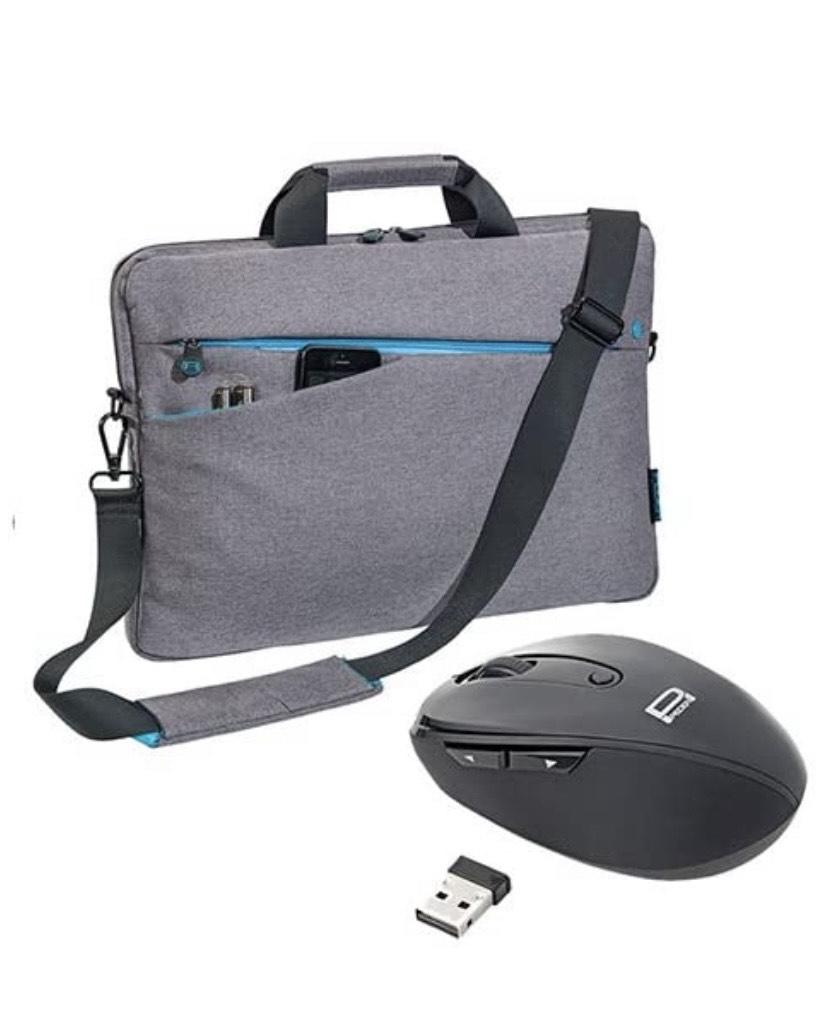 Bolso del Ordenador portátil con el ratón 17,3 Pulgadas (43,9 cm