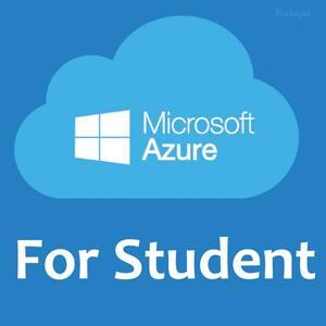 GRATIS :: Azure for Students = Herramientas + Formación + 100$ (Sin tarjeta de crédito)