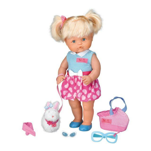 Muñeco Nenuco mi mascota más coqueta Cotton Line Famosa