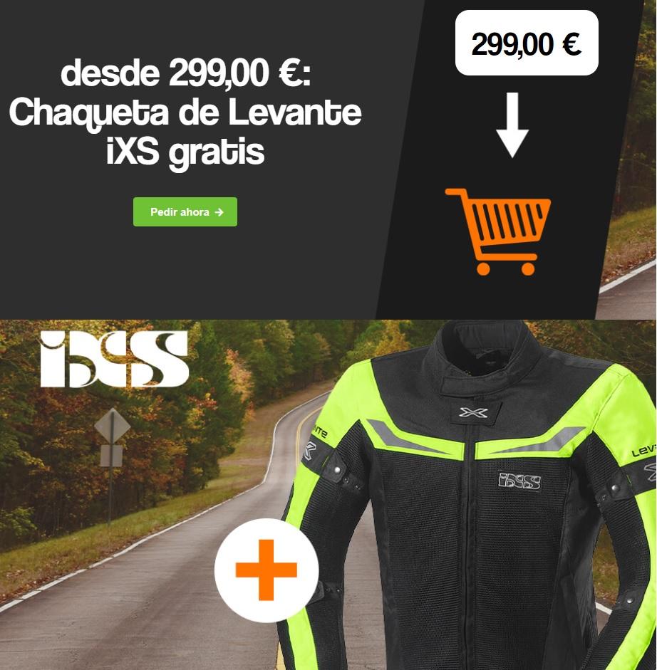 Chaqueta IXS Levante gratis al gastar 299€