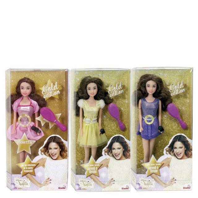 Muñeca Violetta cantante Disney Simba SIMBA