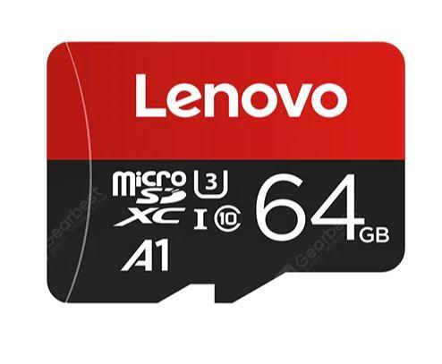 Tarjeta de memoria microSD 100 MB/s Lenovo - 64GB