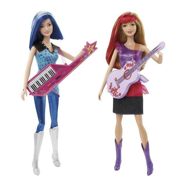 Amigas Barbie Campamento Princesas