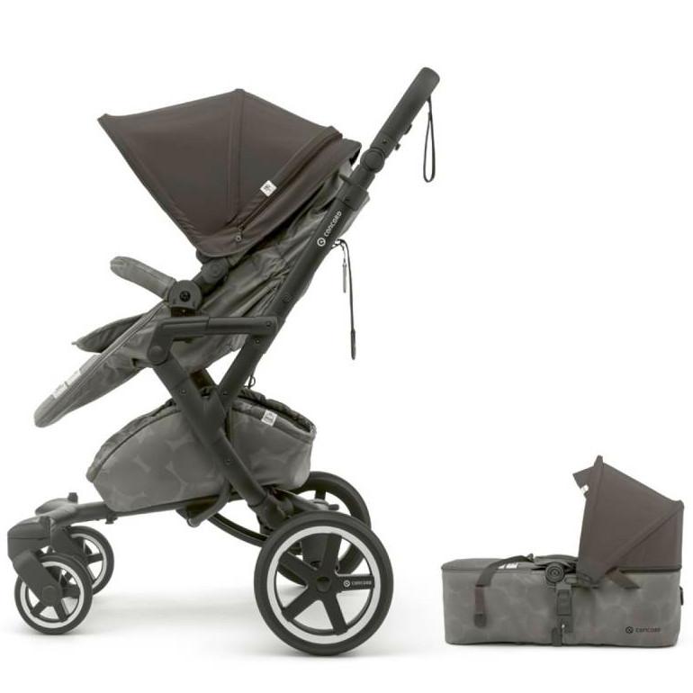Coche de paseo dúo Concord Neo Plus Baby Set gris (Silla de paseo + Capazo)
