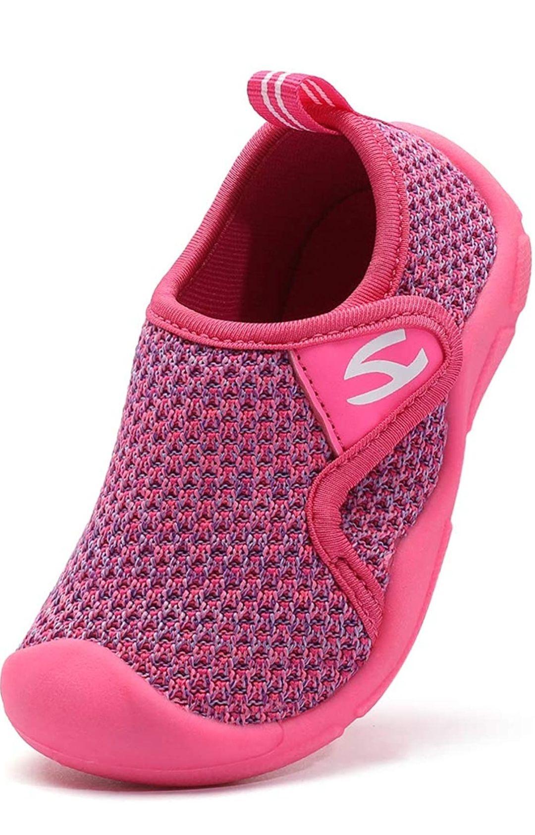 Zapatillas de estar por casa para Niños color rosa Talla 30