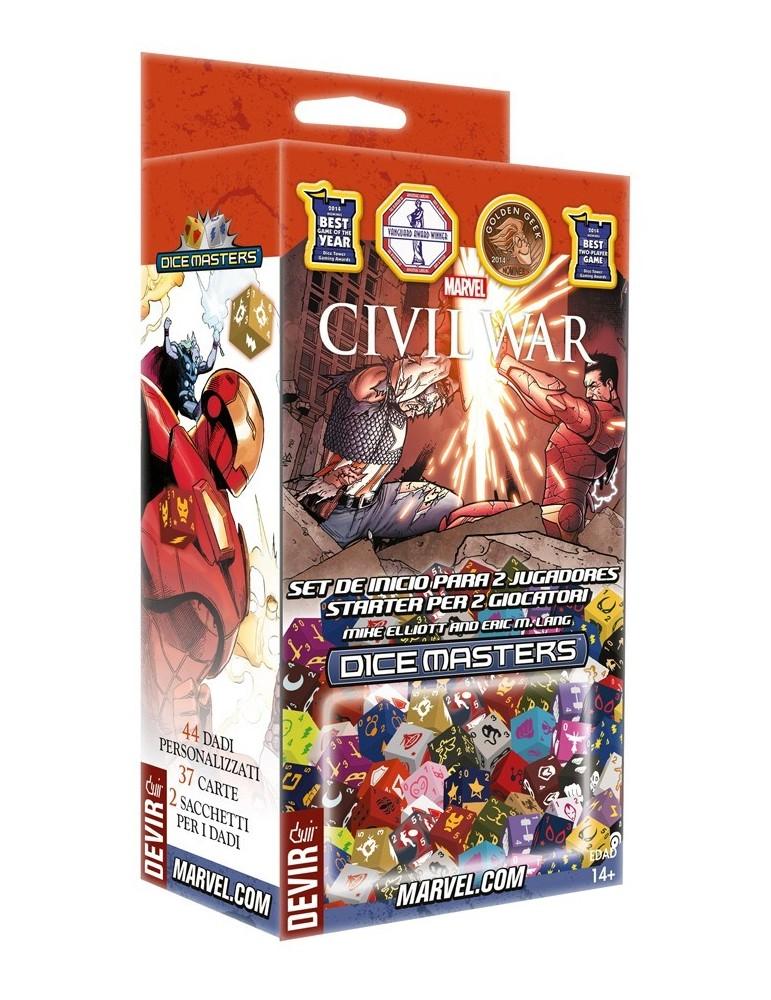 Marvel Dice Masters - Civil War (Castellano)