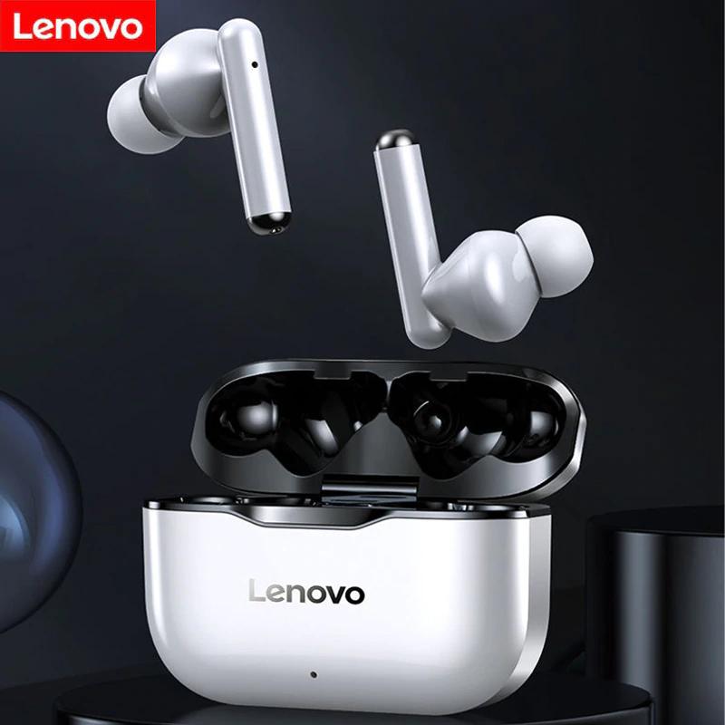 Original Lenovo LP1 Auriculares inalámbricos con Bluetooth V5.0