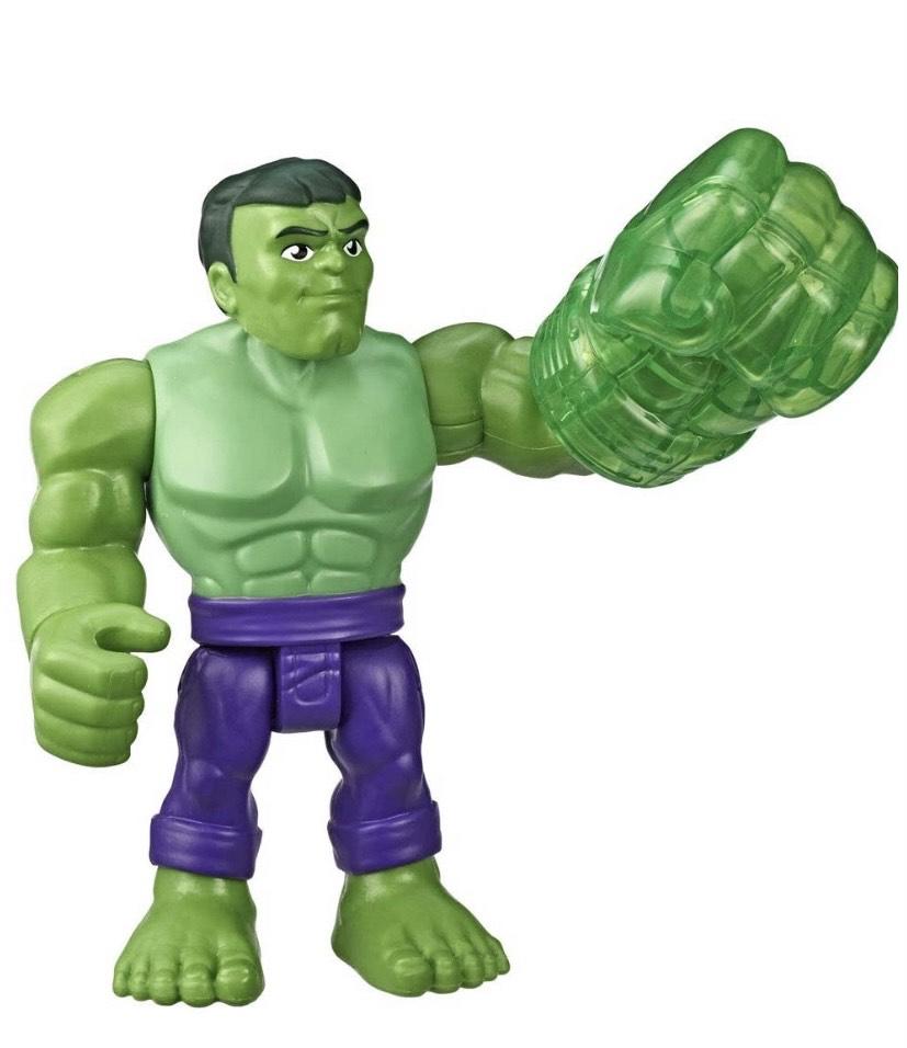Hulk Hasbro Playskool- Heroes The_Avengers Marvel Super Hero Adventures-Hulk