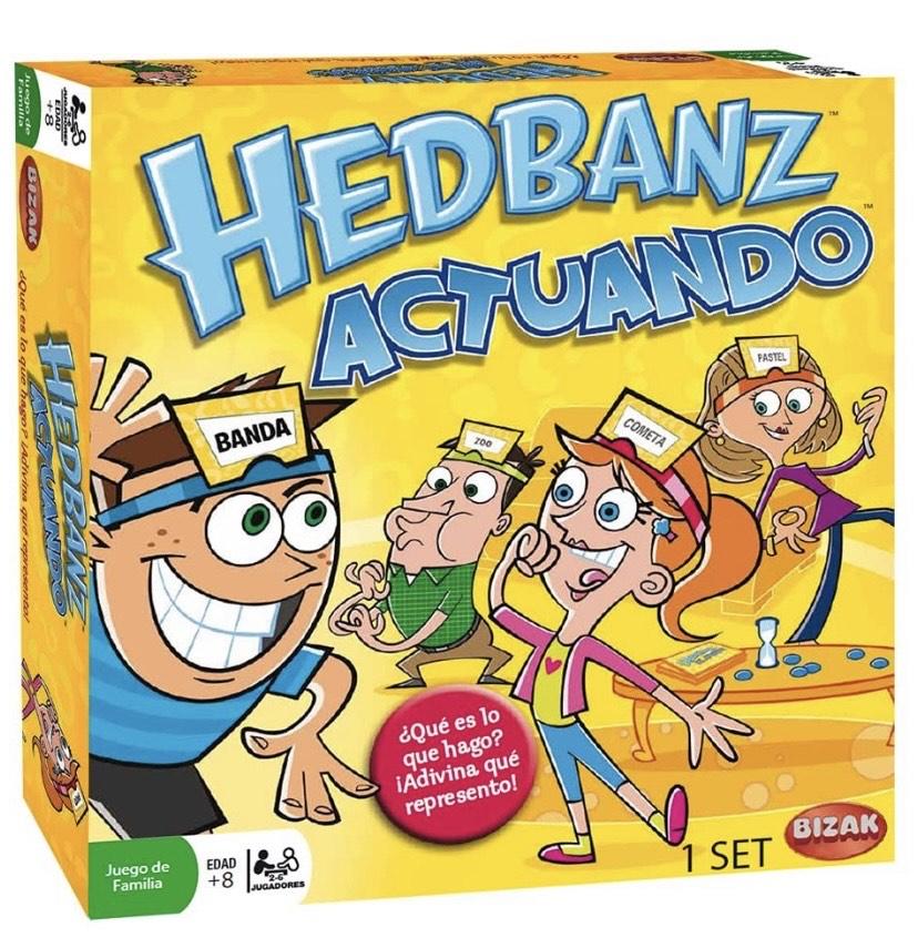 Juegos Bizak - Hedbanz actuando