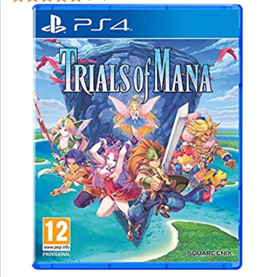 Trials of Mana Para PS4