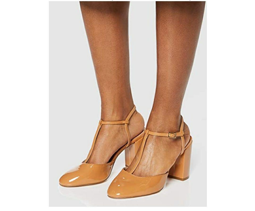 TALLA 36 - Marca Amazon - find. Zapatos de Tacón Mujer