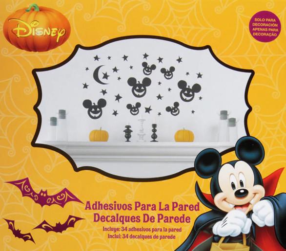 Halloween: 4 velas de Calabazas por 0,45€ y pack de 34 adhesivos de pared Disney por 0,95€