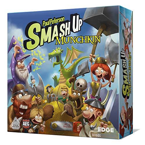 Smash Up - Munchkin - Juego de Mesa