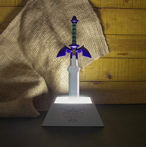 The Legend of Zelda - Master Sword Lamp (Paladone). Lampara de ambiente (producto oficial Nintendo). Mínimo histórico