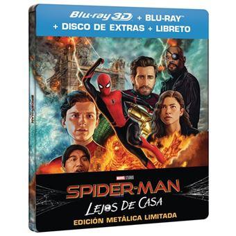 Spiderman: Lejos de casa - Steelbook 3D + Blu-Ray en Media Markt Puerto Venecia, Zaragoza