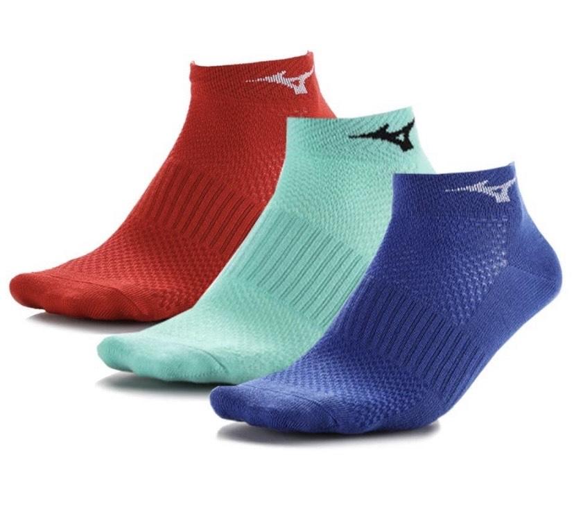 3 pares de calcetines Mizuno Training Mid
