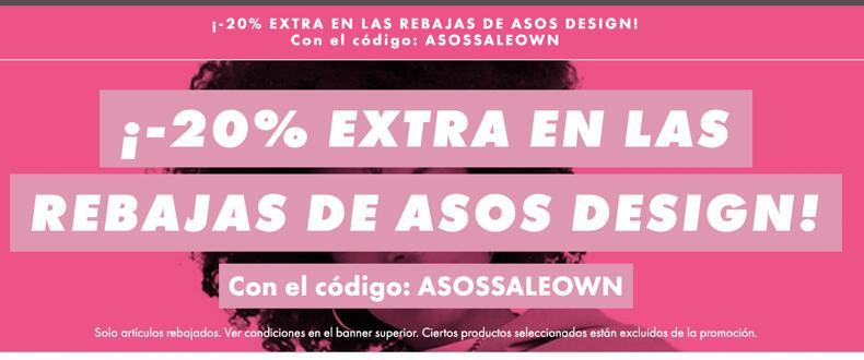 -20% extra en las rebajas de Asos Design