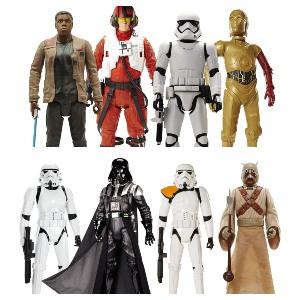 Figuras de Star Wars 20' con Articulaciones