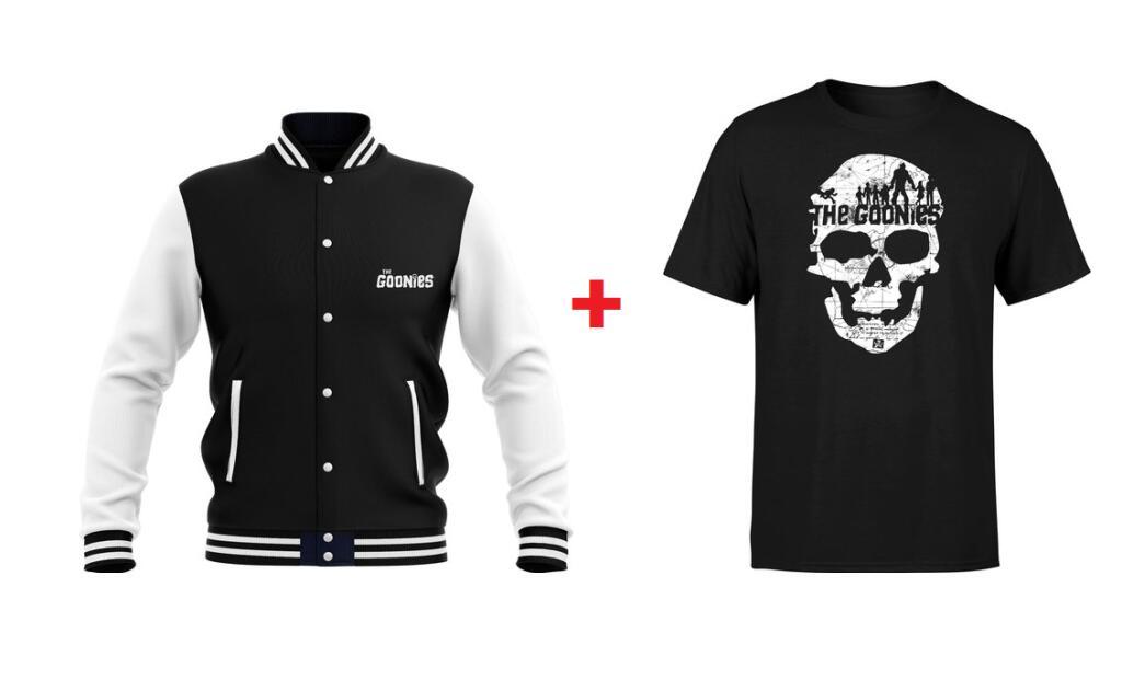 Pack chaqueta + camiseta The Goonies (gastos de envío gratis)