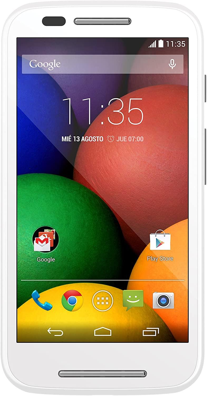 Motorola Moto E Blanco móvil libre