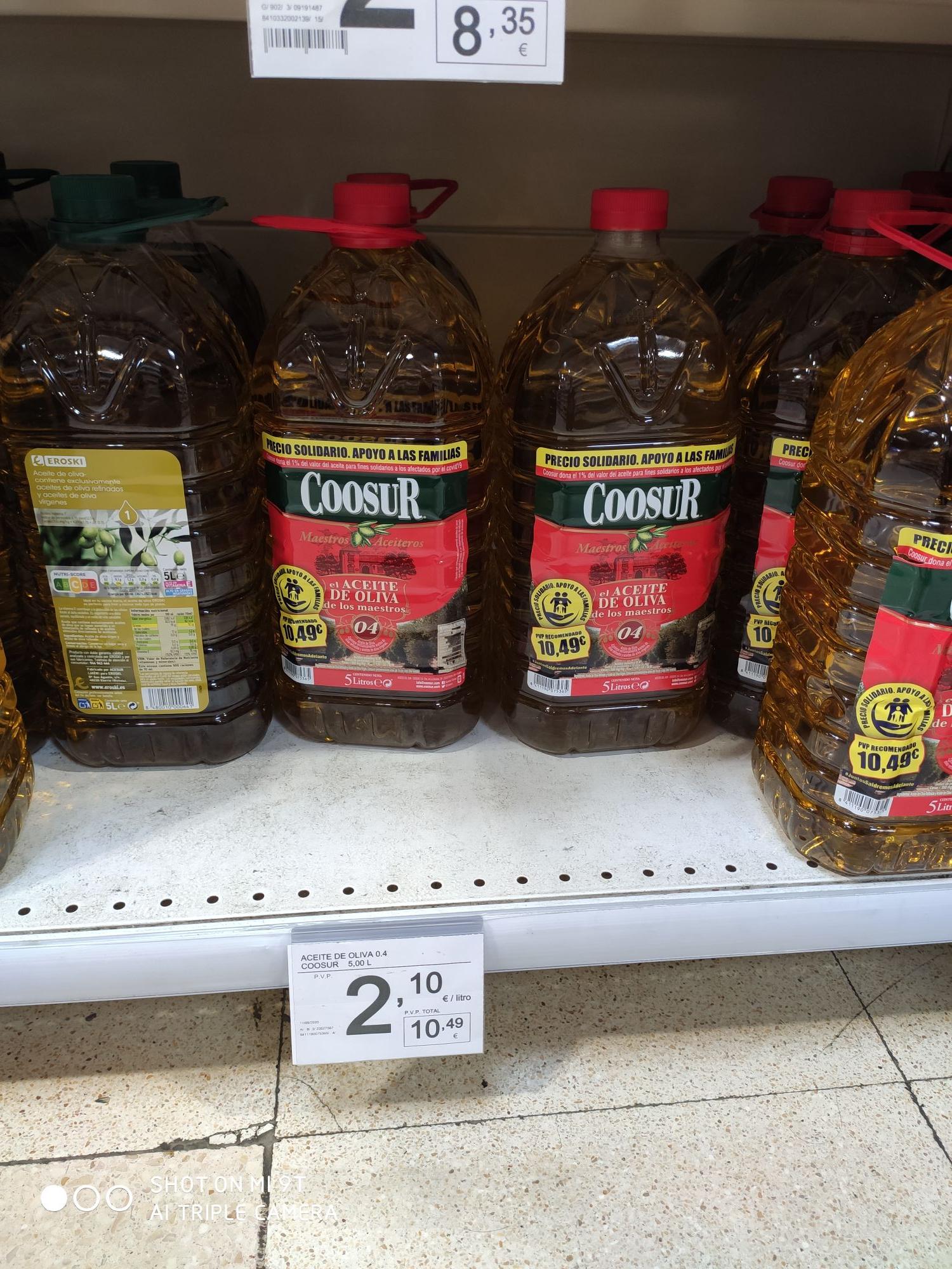 Aceite de Oliva Coosur