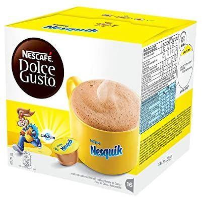 Nescafé DOLCE GUSTO Cacao Nesquik. Pack 3X16 cápsulas.