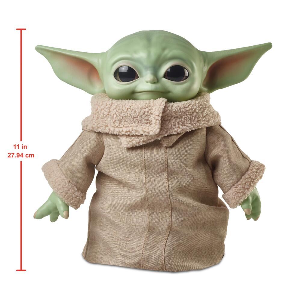 Star wars baby yoda - figura de 27cm desde España