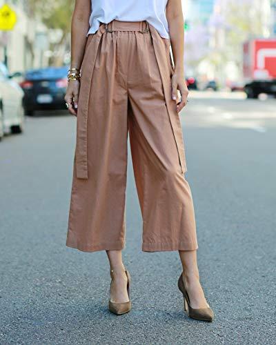 Pantalón culotte suelto