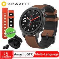Amazfit GTR 47mm por 77,4€ // 42mm por 63,2€ // + cupones en la descripción