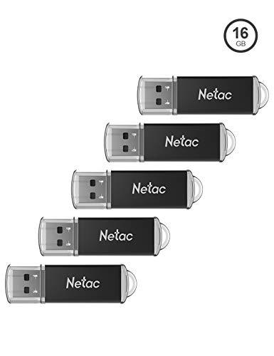 Pack 5 Memorias USB 16GB/ud (Amazon)
