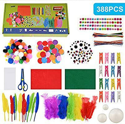 Fabur 388psc Kit de Manualidades para niños