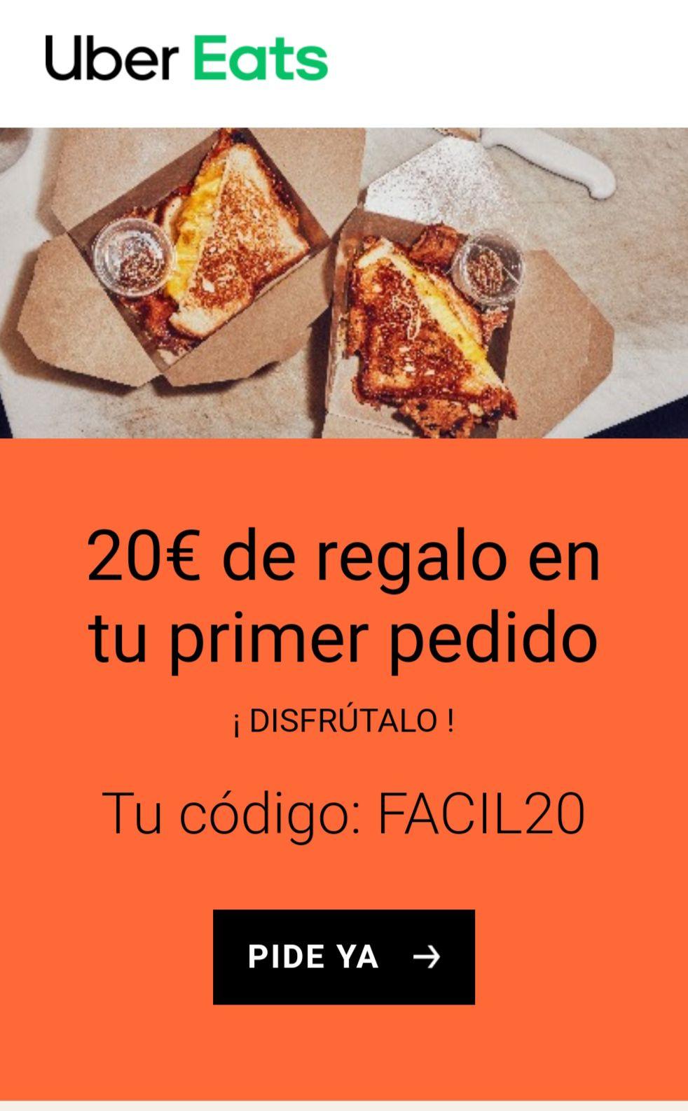 20€ descuento pedido 25€ (Cuentas Nuevas)
