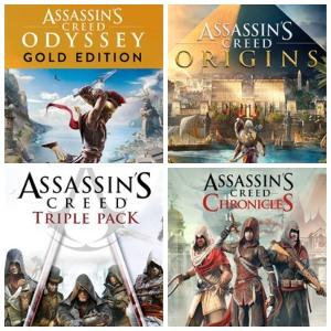 Assassin's Creed :: -80% en Origins - DELUXE EDITION, Odyssey - GOLD EDITION y más @XBOX