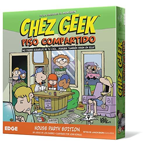 Chez Geek: Piso compartido - Juego de Mesa