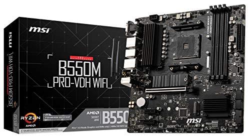 MSI B550M Pro-VDH WiFi - Placa Base Pro Series