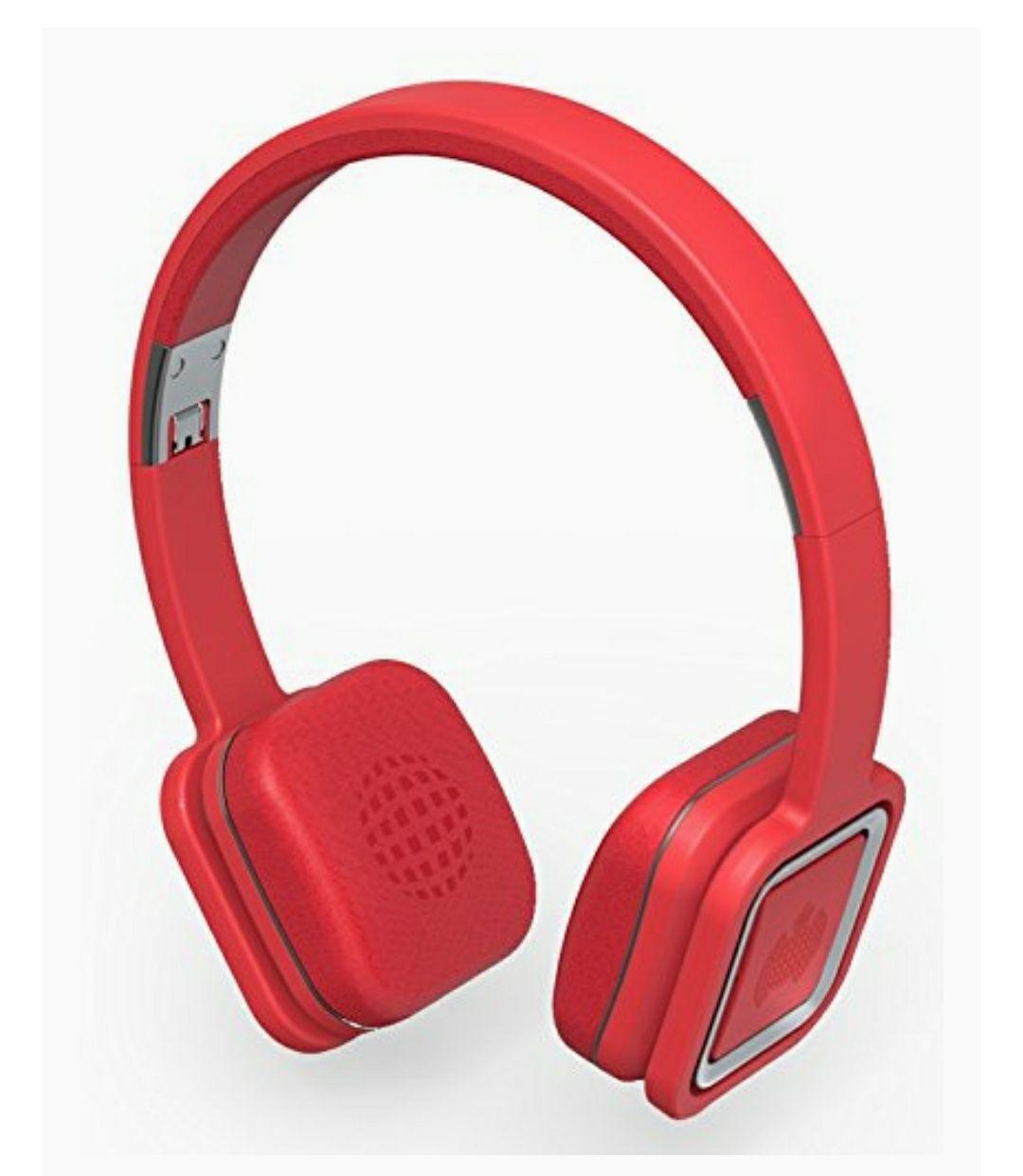Ministry of Sound Audio On Plus Auriculares plegables inalámbricos Bluetooth/NFC con cancelación de ruido, controles/micrófono