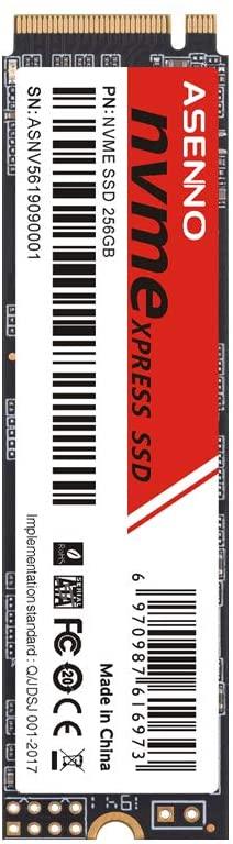 SSD Nvme Asenno 256Gb