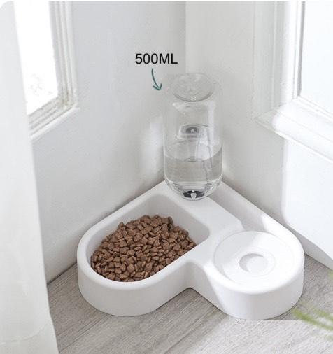 Cuenco SHUANGMAO Gato 2,2 L para comida de perro para alimentador de gatos bebedero