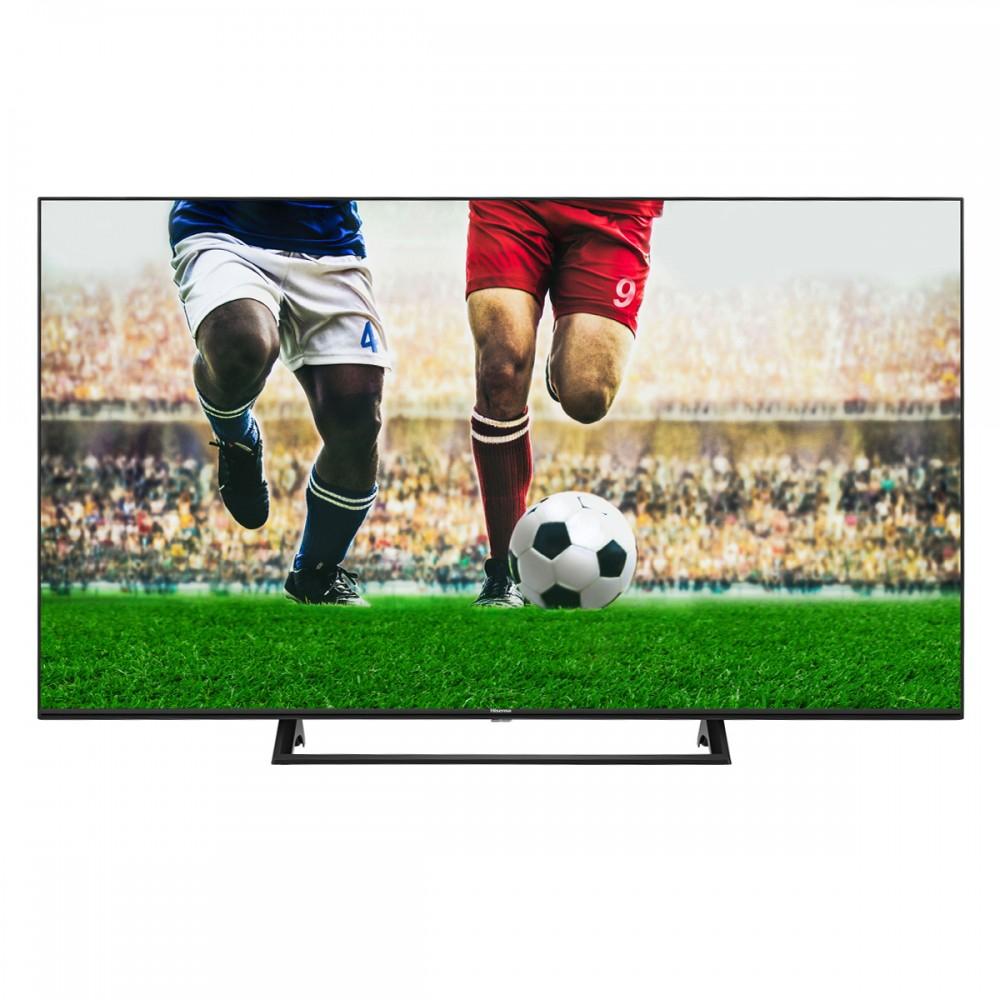 """TV LED 55"""" - Hisense 55A7300F, UHD 4K, Quad Core, Smart TV, DVB-T2, WiFi, Bluetooth, DTS, Negro"""