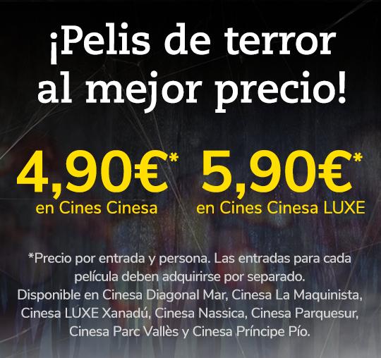 Ciclo de cine de Terror por Halloween en Cinesa (todos los jueves a 4,90€)