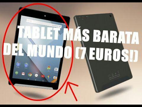Tablet Android 8″ por sólo 7,57€ (promoción tablet OCU 2017)