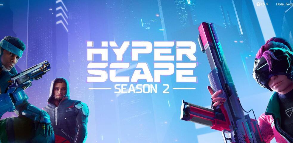 Hyper Scape - Recompensa pase de batalla (Twitch Prime)