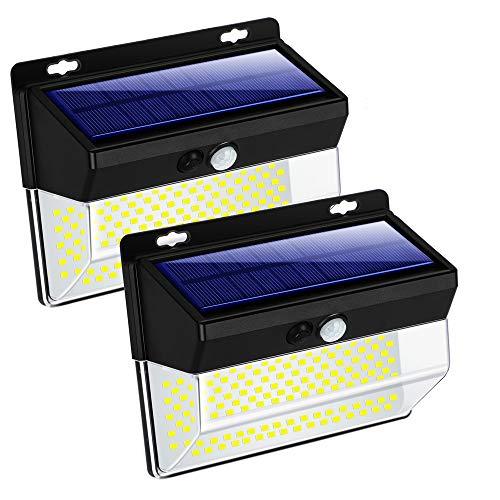 Pack de 2 luces solares IP65