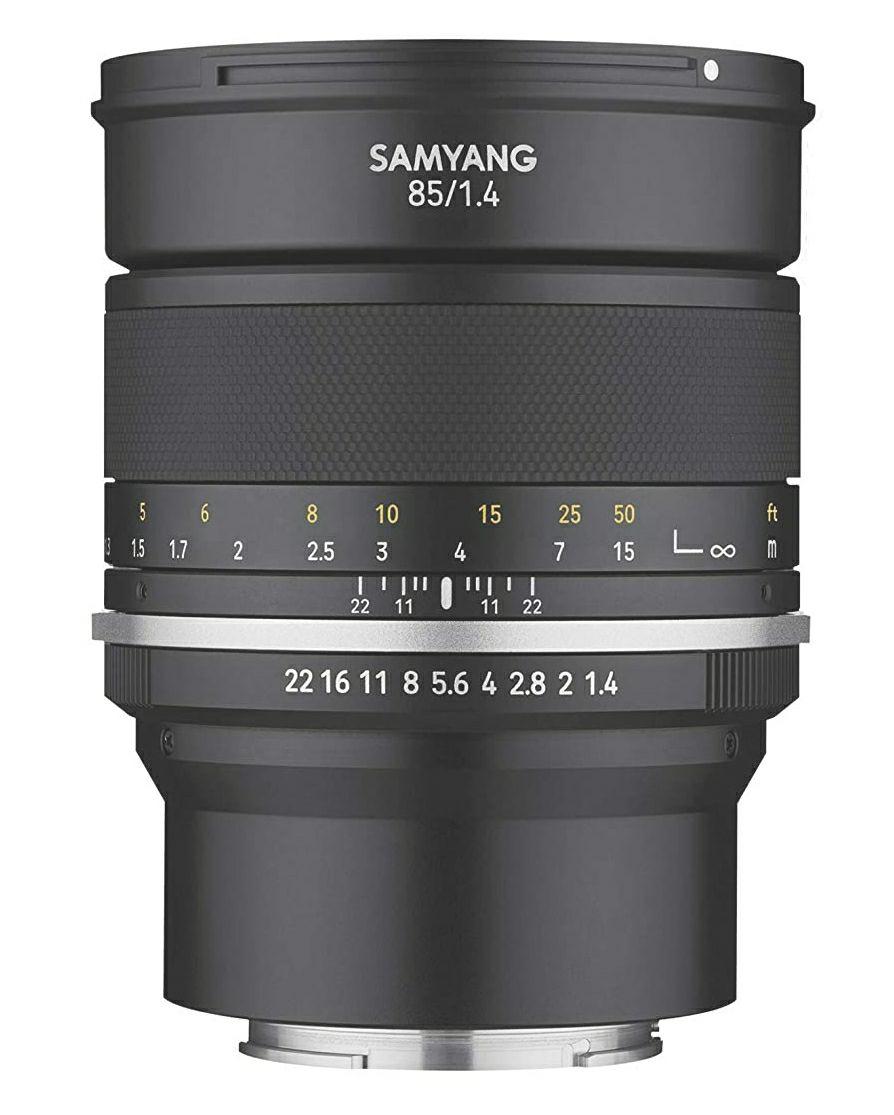 Objetivo Samyang MF 85mm f1.4 II para Sony E (Full Frame FE)