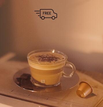 Portes gratis Nespresso (compra mínima 50 capsulas)