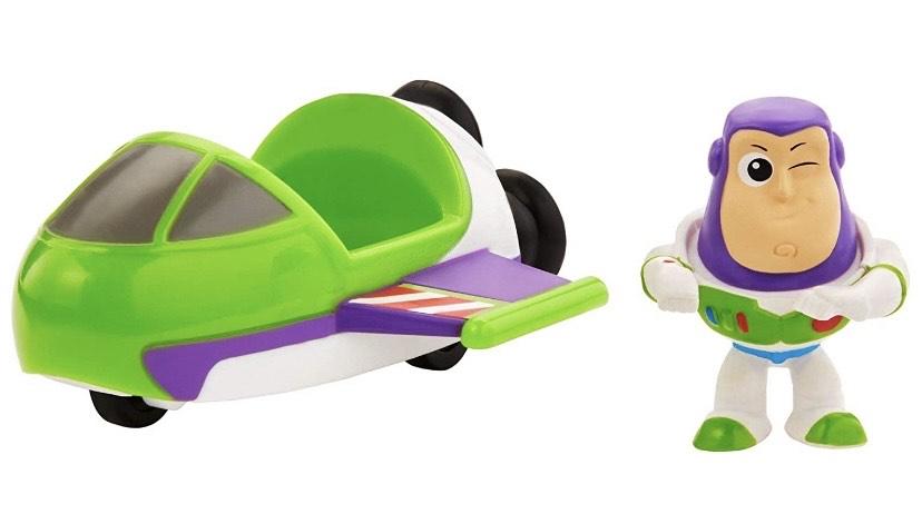 Mattel Disney Toy Story 4 Minifigura Buzz con Nave Espacial