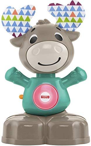 Fisher-Price Alce Linkimals, juguete interactivo bebés +9 meses. Mínimo histórico