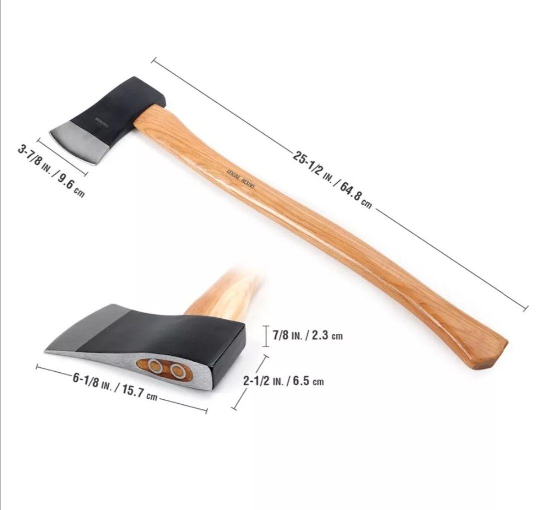 Hacha compacta de madera WORKPRO